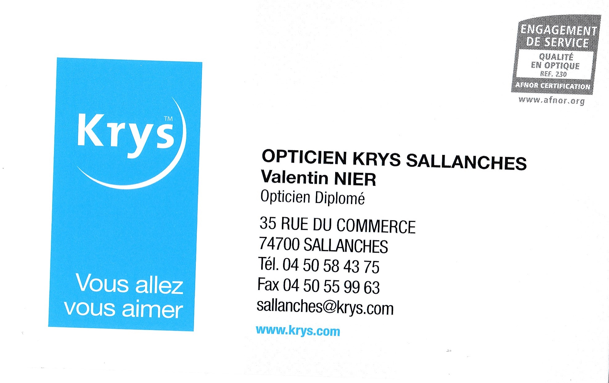 Krys Sallanches
